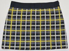 MILLY  Women's Marigold Cotton Mini Skirt   Size 6