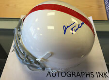 Jerry Tubbs autographed OU Oklahoma Sooners Mini Helmet Deceased