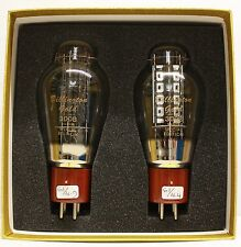 300B BILLINGTON GOLD SPECIAL EDITION CHINESE 2PIECES MATCHED PAIR VALVE TUBE