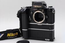 【RARE MINT】 Nikon F2 Photomic AS Black + MD-2 + MB-2 + Grip From Japan #1582