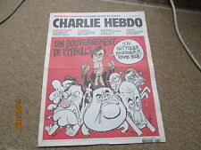 JOURNAL BD CHARLIE HEBDO 961 fillon ump un gouvernement de pitbulls luz 2010