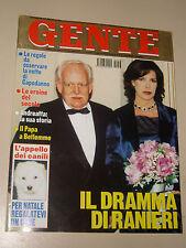 GENTE 1999/53=CAROLINE DE MONACO=RANIERI=PAOLO CALISSANO=BAGHERIA=CHARLES SCHULZ