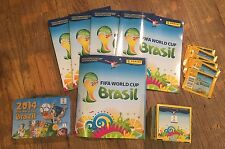 Soccer FIFA World Cup Sticker Cards With & Books And Collector Tin What A Deal!!