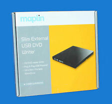 Grabadora De Dvd Externa MAPLIN Lector De Cd Slim Regrabadora-USB 2.0 powered-PVP = 39.99 EUR