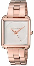 Michael Kors Authentic Watch MK3645 Lake Rose Gold Stainless Steel Women 32x32mm