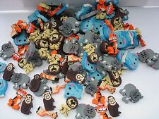 MINI ZOO ANIMAL ERASERS 1''  LOT OF 288 CARNIVALS PARTY TOYS  ASSORTED