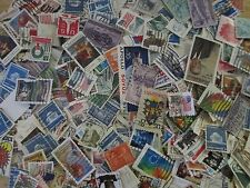 1000+  OFF-PAPER U.S. POSTAGE STAMPS-USED