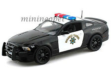SHELBY COLLECTIBLES 460 2013 FORD MUSTANG BOSS 302 1/18 HIGHWAY PATROL POLICE