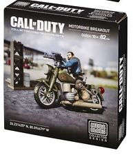 Call of duty Mega Bloks vehículos Light Armored Motorbike Breakout