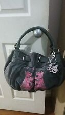 Juicy Couture Grey Pink Scottie Freestyle Tote HandBag ***NWT***