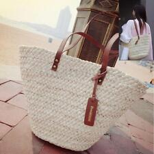 Delicate Women's Straw Beach Bag Lady Shoulder Bag Tote Shopping Bag Handbag VNC