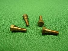 2BA Brass Screws With Shoulder Model Making Steam Engine Crank Pin