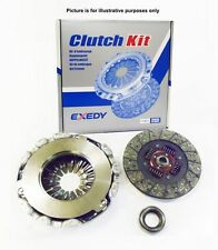 EXEDY BRAND Clutch Kit 3pcs For Toyota Landcruiser KDJ90/KDJ95 3.0TD 08/00-09/02