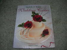 QUICK & EASY WEDDING CAKES by Karen Goble ~ Sugarcraft and Sugar Flowers