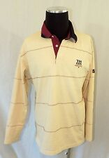 VINTAGE TOMMY HILFIGER JEANS TH85 SAILING YACHTING LOOK EMBROIDERED LS SHIRT L