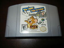 ***TOM & JERRY FISTS OF FURY N64 NINTENDO 64 GAME***