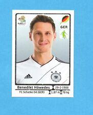 PANINI-EURO 2012-Figurina n.236- HOWEDES - GERMANIA -NEW-WHITE BOARD