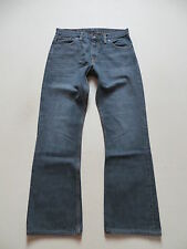 Levi's® 507 Bootcut Jeans Hose W 31 /L 32, Grau ! Faded Washed Denim, Sehr Gut !