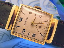 1940 (14K SOLID YELLOW GOLD) LONGINES 8LN-CALIBER (NEAR-MINT) VINTAGE MENS WATCH