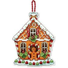 Dimensions Counted Cross Stitch Kit Susan Winget ~ GINGERBREAD HOUSE #70-08917