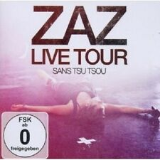 "ZAZ ""ZAZ - LIVE TOUR"" CD+DVD NEU"