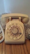 Vintage Retro ITT Gold / Yellow Rotary Dial Desk Phone TESTED CLEAN