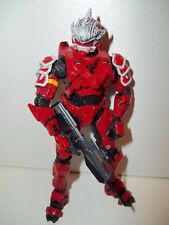 Halo 3 **RED HAYABUSA Spartan Soldier** McFarlane Figure Complete w/ Weapon!!!