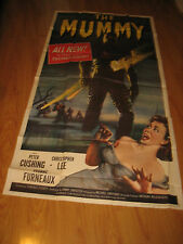 The Mummy Orig, 3sh movie poster '59 Terence Fisher Hammer horror,