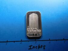 FIRST INTERSTATE BANK FINANCIAL NEVADA COMMERCIAL 1984 VINTAGE 999 SILVER BAR