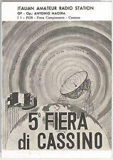 52810 - CARTOLINA d'Epoca - FROSINONE provincia - Cassino: PUBBLICITARIA 1972