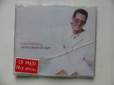 CD 4 TITRES MARC ANTHONY When i dream at night COL 669510 2