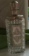 FLACON ARGENT SILVER NETHERLAND 19 Th CRISTAL GLASS BOTTLE  PERFUME XIX