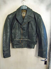 VINTAGE WW2 GERMAN HORSEHIDE LEATHER FLYING JACKET SIZE M