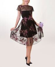 SOLD OUT! Tatyana Black & Pink Serenity Dress, size 4X, 18/20US