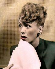 "EVE ARDEN HOLLYWOOD MOVIE STAR ACTRESS 8x10"" HAND COLOR TINTED PHOTOGRAPH"