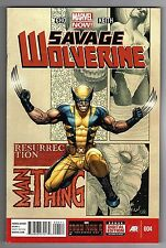 SAVAGE WOLVERINE #4 - FRANK CHO STORY, ART & COVER - MARVEL NOW! - 2013