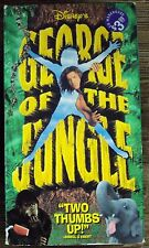 GEORGE OF THE JUNGLE VHS late-90's family comedy Brandon Fraser Leslie Mann