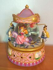 Disney Multi Princess Carousel Snowglobe Musical Retired Snow globe