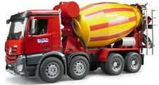 Bruder Toys MB Arocs Cement Mixer Kids Play Toy Truck # 03654 NEW