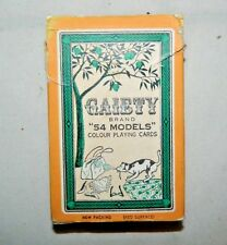 Vintage Gaiety 54 Models Playing Cards - Number 202 Nudes