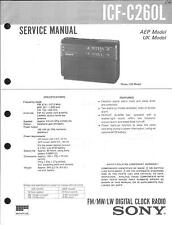 Sony Original Service Manual  für ICF-C260L