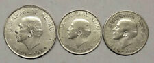 Jawaharlal  Nehru  one rs -- 50 paisa hindi  &  english -- three  coins  set