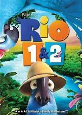 Rio 1 & 2 New DVD! Ships Fast!