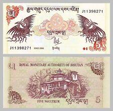 Bhutan 5 Ngultrum 2006 p28a unz.
