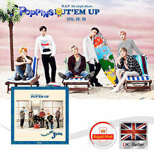 New B.A.P 5th single album PUT`EM UP  K-Pop CD Photobook