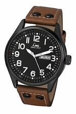 Limit Mens Pilot Style Watch Day and Date Features Model 5492