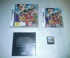 Dragonball z attack of the saiyans nintendo ds boxed and complete