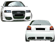 BODY KIT- KIT CARROSSERIE PARE-CHOCS - KIT CARROCERIA - PARAGOLPES AUDI A3 8L