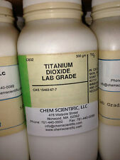 Titanium Dioxide, three packages of 500g (1.5kg total)