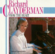 RICHARD CLAYDERMAN : FROM THE HEART / CD - DIGITALLY REMASTERED